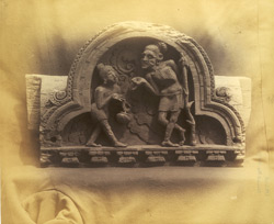 Ancient Hindu wood carving from Kashmir Smas, Peshawar District. 10031027